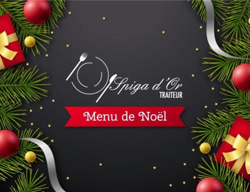 Les plats de Noël pour le réveillon proposés par Spiga d'Or