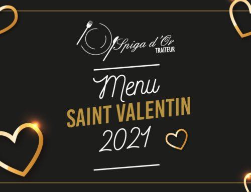 La Saint Valentin – plats proposés par Spiga d'Or